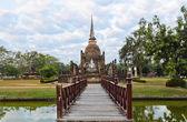 Sukhothai Historical Park, Thailand — Foto de Stock