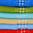 Stock Photo: Colorful towels