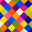 Colorful square background - Stock Photo
