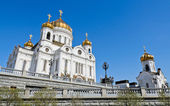Cathedral of Christ the Saviour, the largest of the Russian Ort — Stock Photo