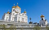 Kathedrale von christ der retter, der größte russische ort — Stockfoto