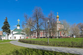 Novodevichy Convent, Russia. — 图库照片