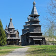 Ancient Wooden Church — ストック写真