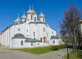 St. Sophia cathedral in sunny day — Stock Photo