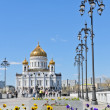 Beautiful view of Russian Orthodox Church — Stock Photo