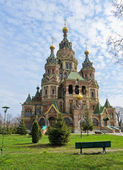 Church of St. Peter and Paul in Peterhof — Stock Photo