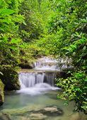 Quedas em cascata — Fotografia Stock