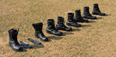 Askeri bot — Stok fotoğraf