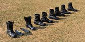 Stivali militari — Foto Stock
