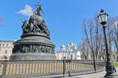 Monument to the Millennium of Russia — Stock Photo