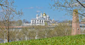 Novgorod Kremlin, Russia — Stock Photo