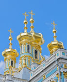 Orthodox golden dome — Stock Photo