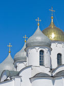 Russian Orthodox Domes — Stock Photo
