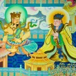 Chinese mural — Stock Photo