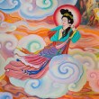 Stock Photo: Chinese mural