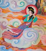 Chinese mural — Stock Photo