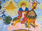 čínský bůh malování — Stock fotografie