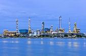 Oil refinery plant — Stock Photo