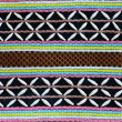 Thai hill tribe fabric — Stock Photo