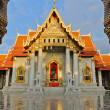 Famous Thai marble temple — Stock Photo