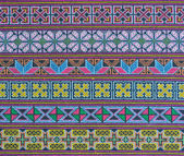 Thai hill tribe fabric — 图库照片