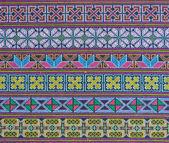 Thajské hill tribe tkanina — Stock fotografie