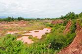 Excavated soil — Stock Photo