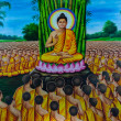 Buddhist mural — Stock Photo