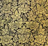 Blattgold malerei — Stockfoto