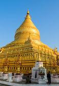 пагода швезигон — Стоковое фото
