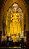 Burmese Standing Buddha — Stock Photo