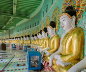 Burmese Buddha images, Myanmar — Stock Photo
