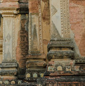 Burmese temple stucco — Stock Photo