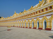 Templo birmanês, myanmar — Fotografia Stock