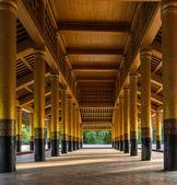 Mandalay Royal Palace, Myanmar — Foto Stock
