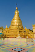 Sagaing golden pagoda, Myanmar — Stock Photo