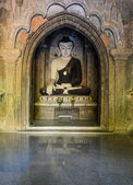 Bagan buddha statue, Myanmar — Stock Photo