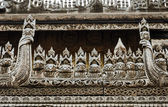 Burmese Wooden Carving — Stock Photo