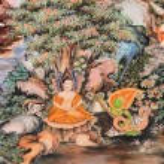 Постер, плакат: Thai mural painting