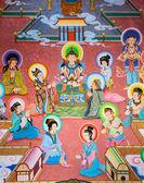 Peinture murale chinoise — Photo