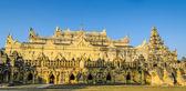 Ancient monastery in Inwa, Myanmar — Stockfoto