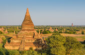Ancient city of Bagan, Myanmar — Stock Photo