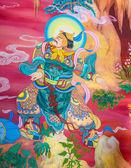 Chinese muurschildering — Stockfoto