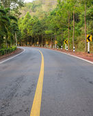 Landsbygden road — Stockfoto