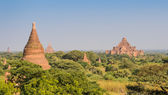 Ancient temples in Bagan, Myanmar — Stok fotoğraf