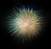 Coloridos fuegos artificiales — Foto de Stock