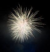 Yellow fireworks — Stock Photo