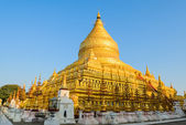 Shwezigon pagoda, Myanmar — Stock Photo