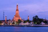 Landmark of Thai temple, Thailand — Stock Photo