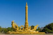 Thai art of a wax sculpture, Thailand — Stock Photo